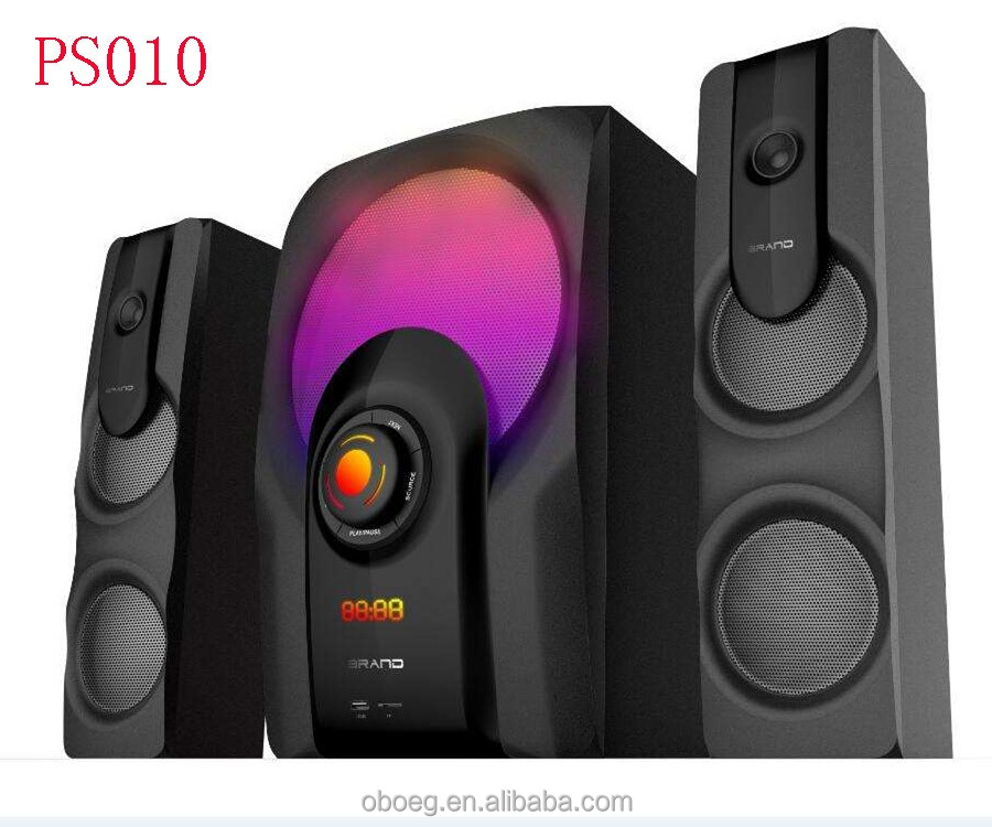 Deluxe multimedia speaker 2.1 subwoofer with stereo sound