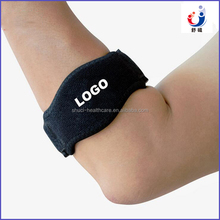 As seen on TV Hot selling OEM label sport fitness elbow support, tennis golf elbow brace