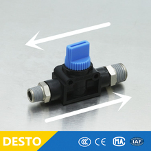 One way not retorn check pneumatic valve fitting