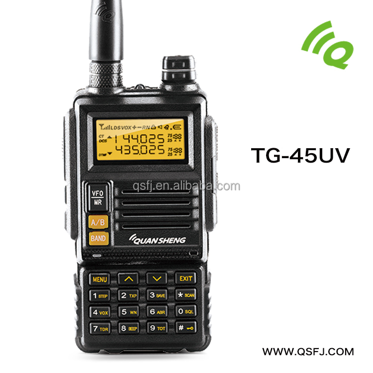VHF Long Range VHF UHF Handheld Transceiver Handheld Two Way Radio