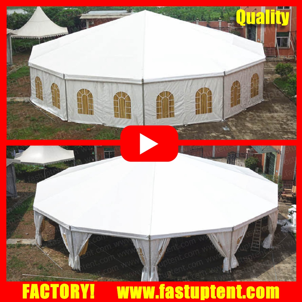 Luxury Round Dodecagon Octagon Dome Tent Event Wedding Tent Marquee Tent