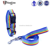 Nylon fabric lead dogs