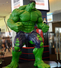 Mall decoration action movie figure Hulk statue