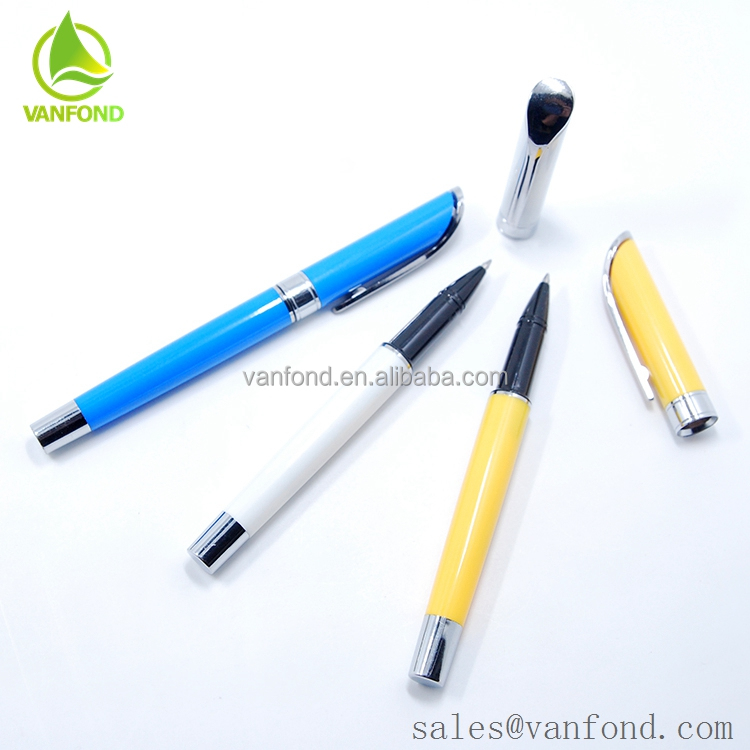 Good Quality Classic Design Uni Ball Gel Pen with Logo Custom
