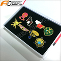 Anime Pocket Monster Pokemon Kanto Region Gym 8 Badges SET with Box Otaku Cute
