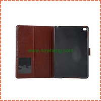 High quality Cowboy style Jeans wallet leather case for ipad mini 4