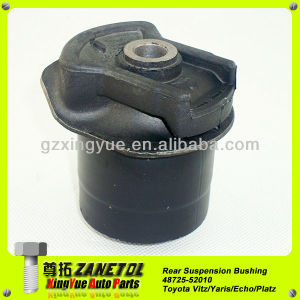 48725-52010 Auto Rear Suspension Arm Rubber Bushing for Toyota Yaris Echo Vitz Platz NCP12 NCP10 SCP10