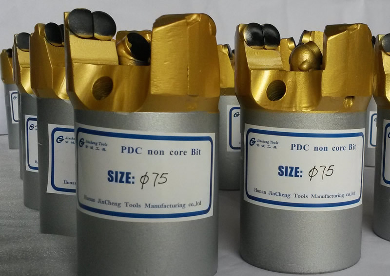 Three Wings PDC drill bit API standard