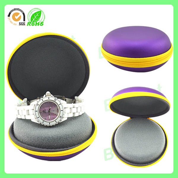 Round shape waterproof wholesale watch case