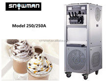 SNOWMAN large cylinders frozen yogurt ice cream machine