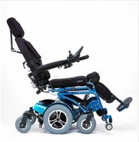 Stand of the wheelchair