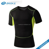 Custom Made Mens High Quality Strong Body Building Dry Fit O Neck Sports T Shirt