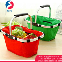 Hot Selling Household Portable Folding Foldable Small Shopping Basket
