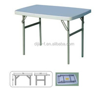 China Import Furniture HDPE Top Event Table Folding Outdoor Table