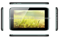 Android 4.0 Cortex A9 EDGE WCDMA 512MB+4GB Bluetooth 2.1+ EDR Front 0.3MP & Back2.0MP or 5MP GPS +AGPS 4500 Mah NFC tablet