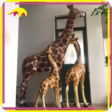 KANO3857 Life-size Animals Animatronic Giraffe Model