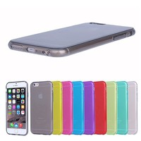 For iphone 6 1mm thickness Smooth Durable & Flexible Slim Fit tpu case,shenzhen tpu mobile case for iphone 6