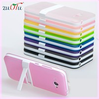 wholesale slim colorful kickstand 2 in 1 tpu pc case cover for mobile phone