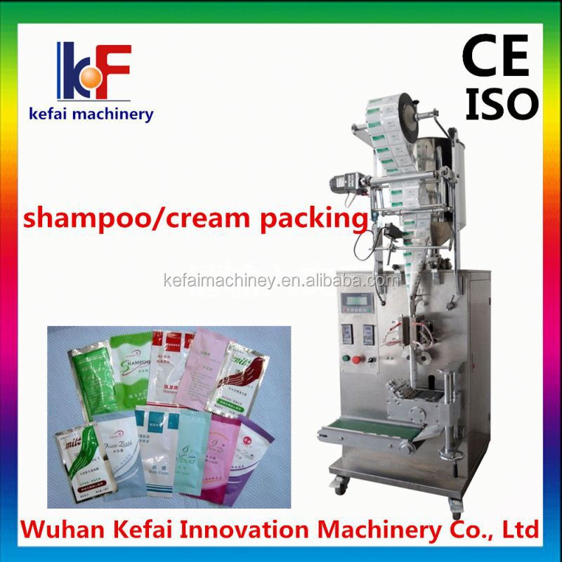 olay cream packing machine