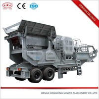 High tech CE ISO BV certified mobile stone crushing