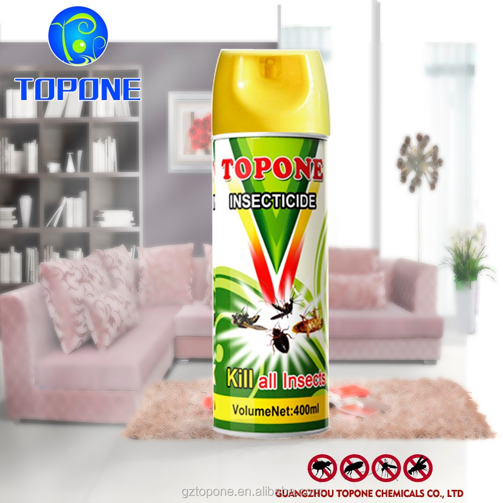 Manufacture Supplier Topone Brand aerosol insecticide spray;insecticide killer