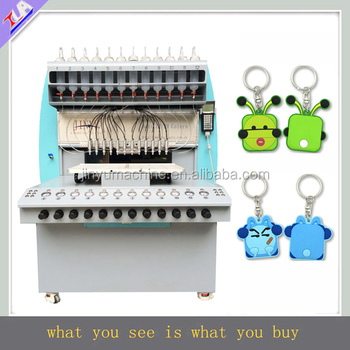 2017 new arrival universal plastic keychain maker equipment