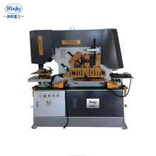 steel punching machine angle cutting machine High speed combined iron worker machine