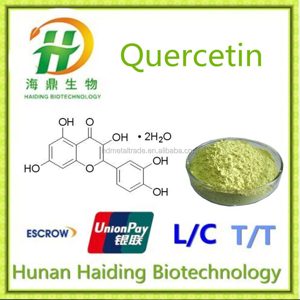 117-39-5 Top Quality with high Purity Standards Quercetin 98%