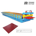 wall and roof cold roll forming double layer roof panel roll forming machine