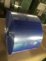 clear heat plastic PVC shrink film