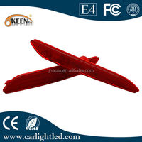New Led Rear Bumper Reflector Light For 2014 Forte, Red Car Led Tail Light
