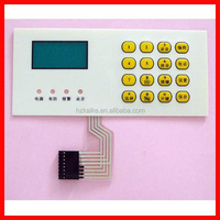 wireless controller panel membrane switch keyboard