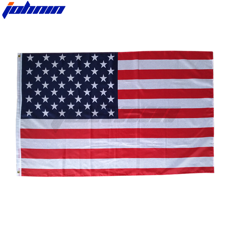 LOOK Patriotic USA Swooper Flag Tall Curved Top Feather Bow Flutter Banner Sign