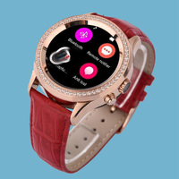 2016 elegant heartrate women mobile watch phones fashion lady watch