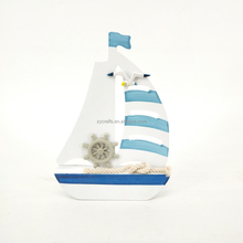 High Quality wooden model boat for home decor