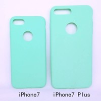NEW!!!Candy TPU Matte Silicone Rubber Slim Back Cover Skin Ultra Thin Soft Frosted Phone TPU Case for iPhone 5 5S 6 6S 7 7s Plus