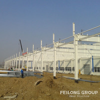 High quality steel poultry farm construction