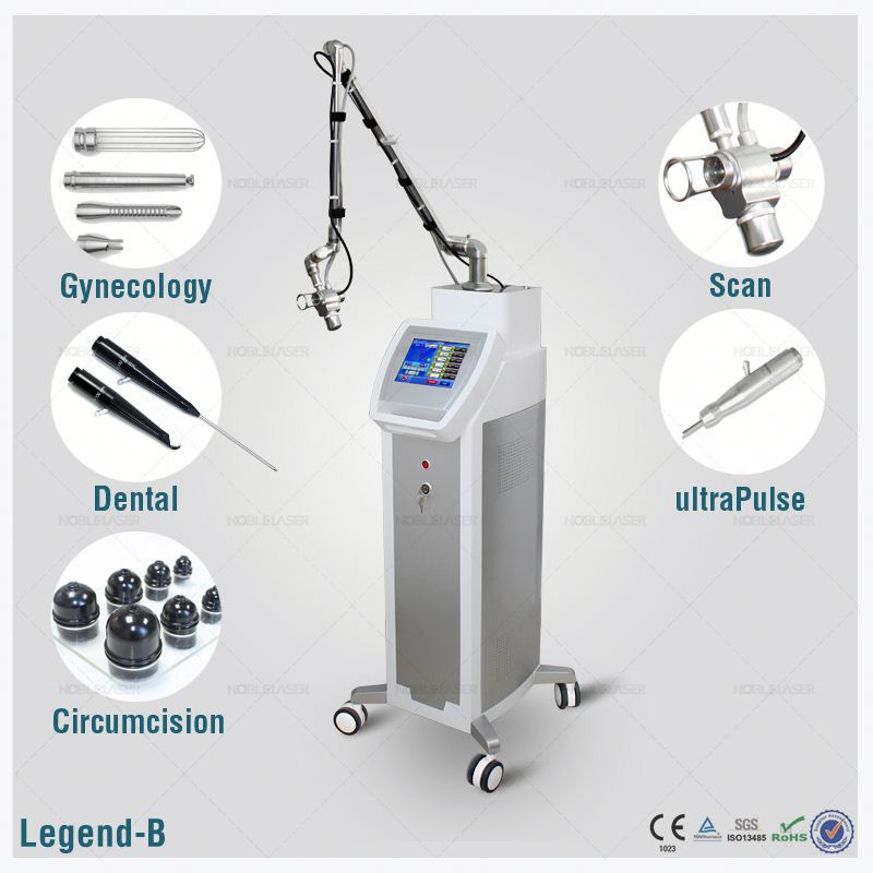 Face lift, tighten and whiten skin noble laser warts removal machine fractional co2 laser