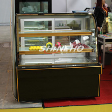 W410 Commercial Display Cabinets/cake display cabinet cake chillers/cake showcase refrigerator