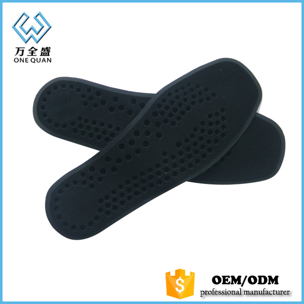 anti-slip anatomical silicone insoles for shoes pads