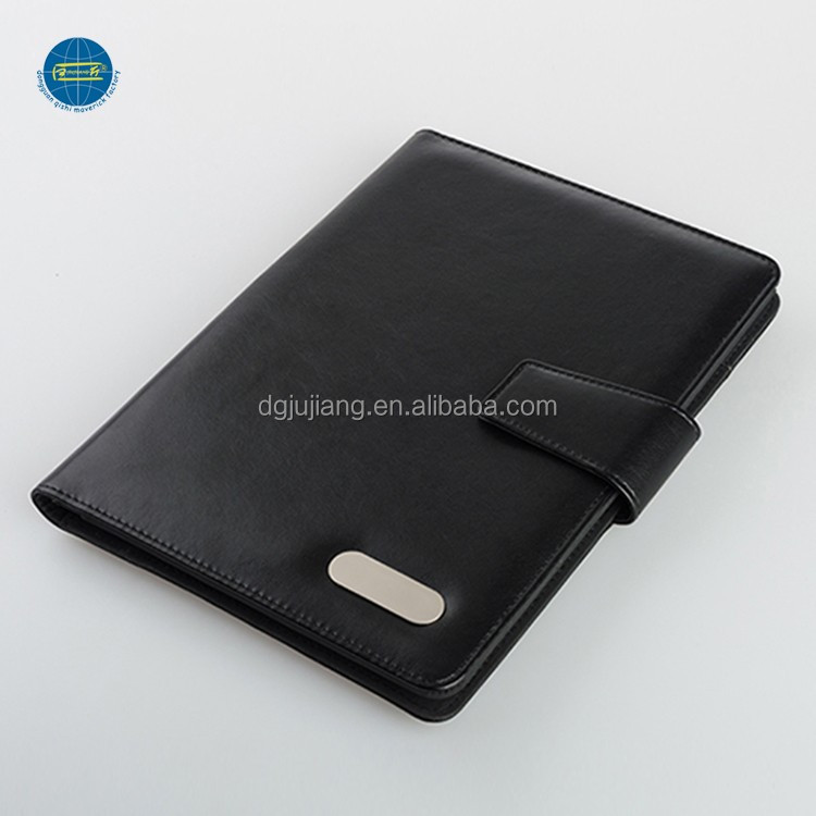 Wholesale office a5 conference portfolio with bulit in 4000mah powerbank