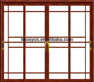 Cheap price frameless sliding glass doors safety door large sliding From China Manufacturer