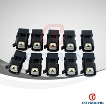 PQY STORE-EV1 To EV6 USCAR Wholeness Fuel Injector Connectors Adapters Wholesales 10PCS/LOT Fuel Injector Connector for US cars