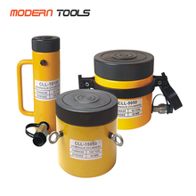 Single Acting Hydraulic Steel Lock Nut Cylinders For Lifting and Supporting