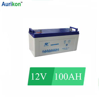 12V 100Ah Gel Battery for off grid aircon