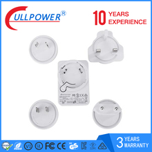 International 12w series usb wall charger interchangeable multiple function for pad or phone