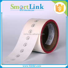 EPC Gen2 rfid uhf M4 chip,12mm diameter rfid uhf j41 inlay sticker for pharmaceutical management