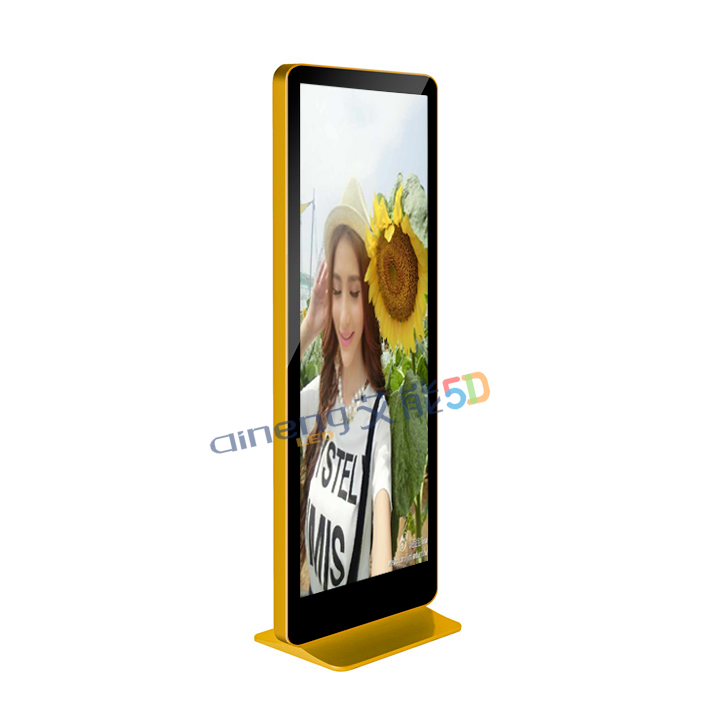Indoor Floor Standing LED Panel Screen Full Color 7 Segment P3 LED Advertising Display
