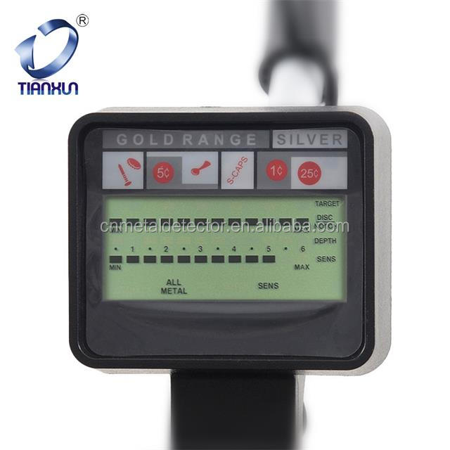 LCD design MD-3500 gold metal detector