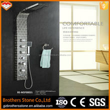 Comfortable shower design ring laser single handle 20 inch rain shower head